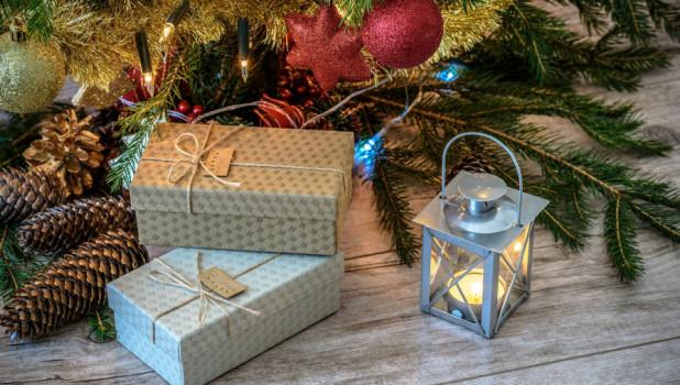 Подарок. Новый год. Рождество