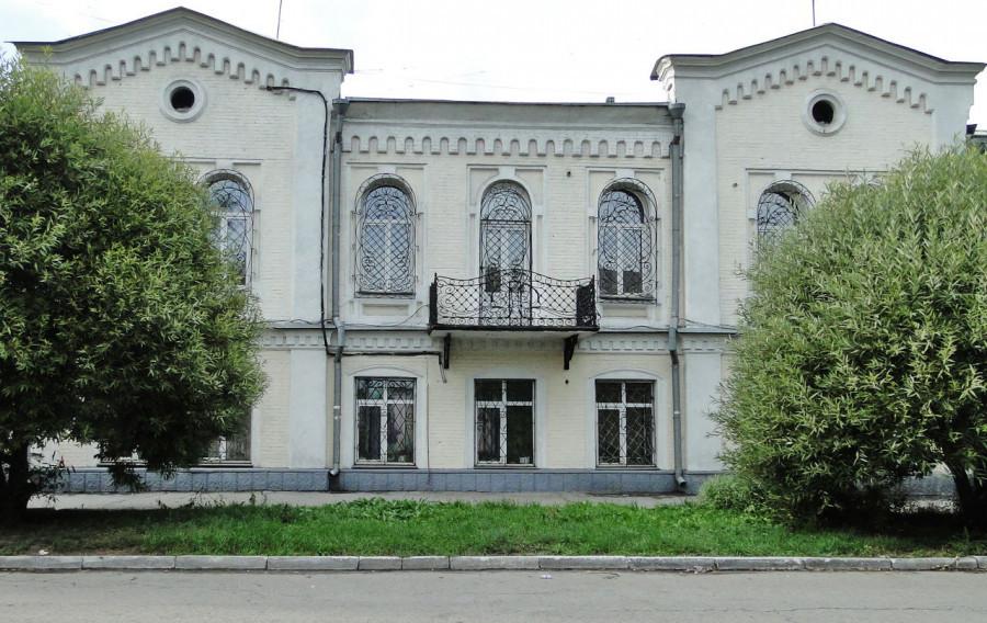 Дом Платоновых в Барнауле, ул. Пушкина, 40.
