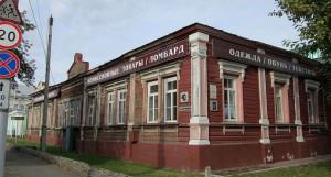 Здание в Барнауле на ул. Ползунова, 40.
