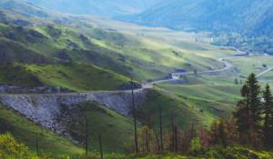 Р-256 Чуйский тракт. Перевал Чике-Таман.