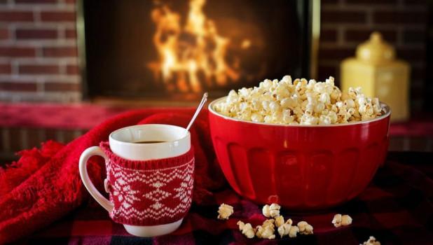 Попкорн. Смотреть кино.