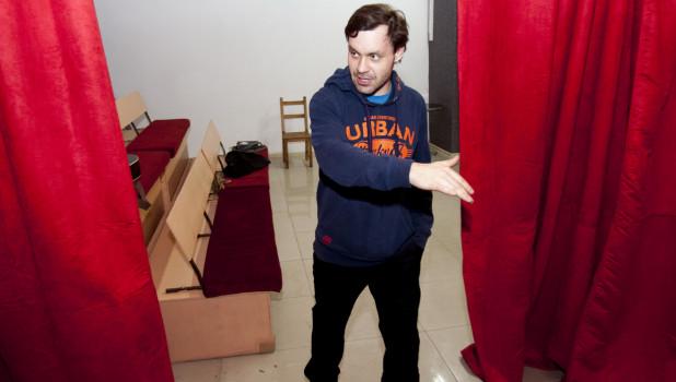 Дом актера на Алтае. Ул. Льва Толстого, 31.
