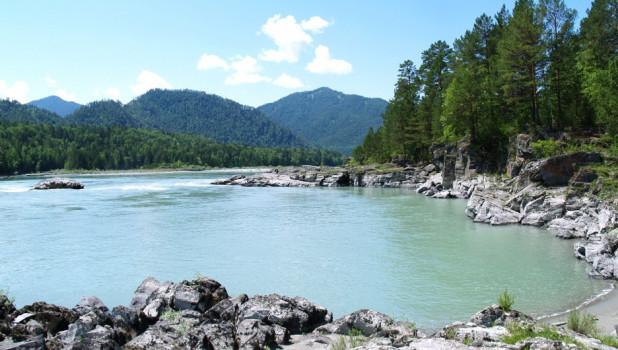 Горный Алтай, река Катунь