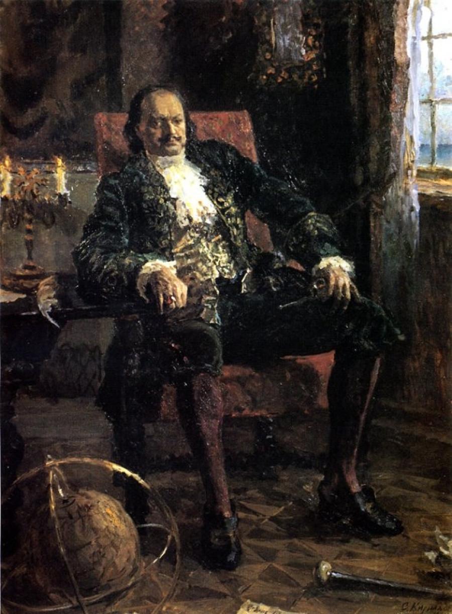 С. Кириллов. Думы о России (Пётр Первый). 1984