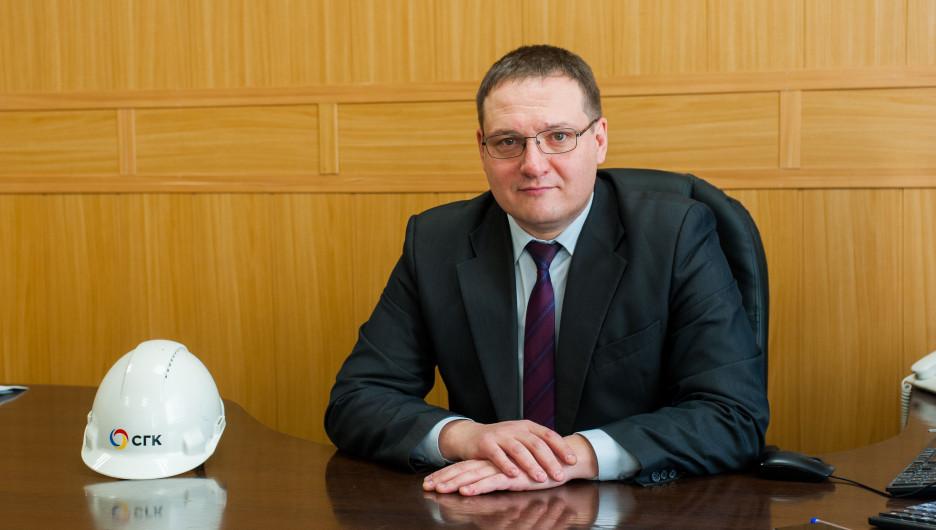 Директор рубцовского подразделения СГК Максим Новов.