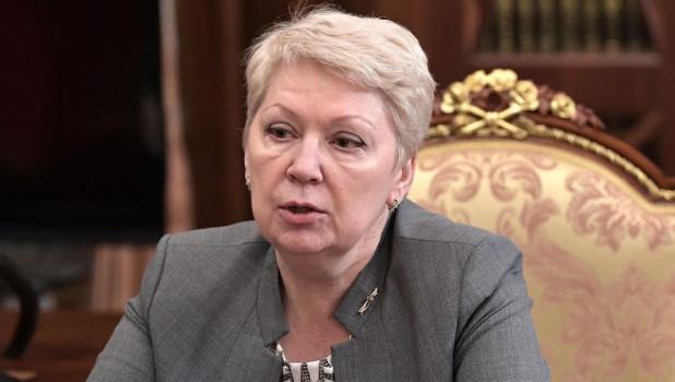 Министр просвещения Ольга Васильева.
