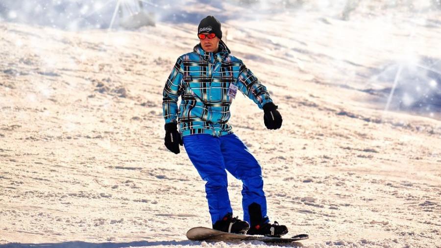 Сноуборд. Горнолыжный сезон.