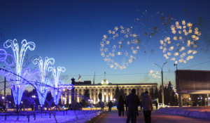 Открытие елки на площади Сахарова, 29 декабря 2018 года.