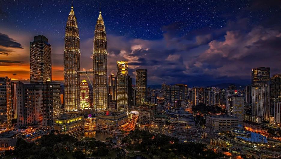 Куала-Лумпур, столица Малайзии.