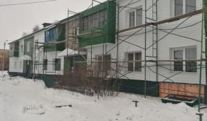 Капремонт дома в Камне-на-Оби.