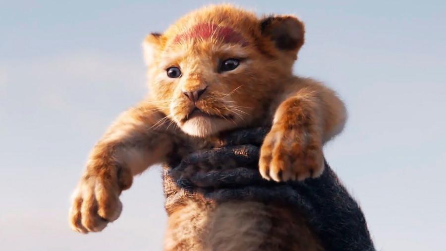 """Кадр из фильма """"Король Лев""""."""