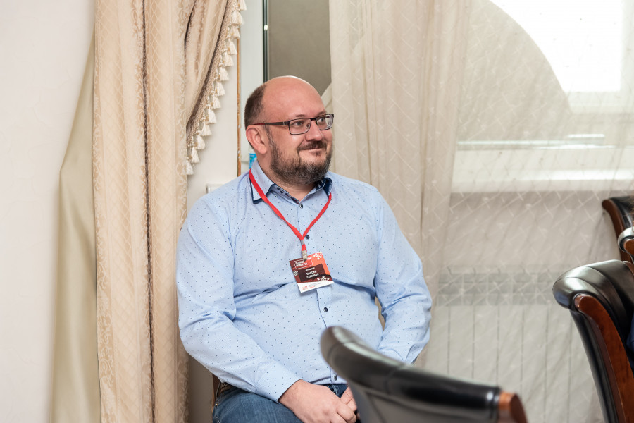 "Максим Савинков, гендиректор компании ""СиСорт""."