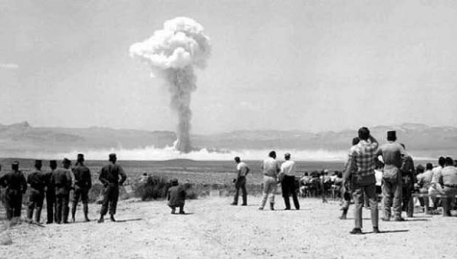 12 октября 1961 г.. Ядерный взрыв на Семипалатинском полигоне