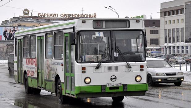 Автобус №1 в Барнауле