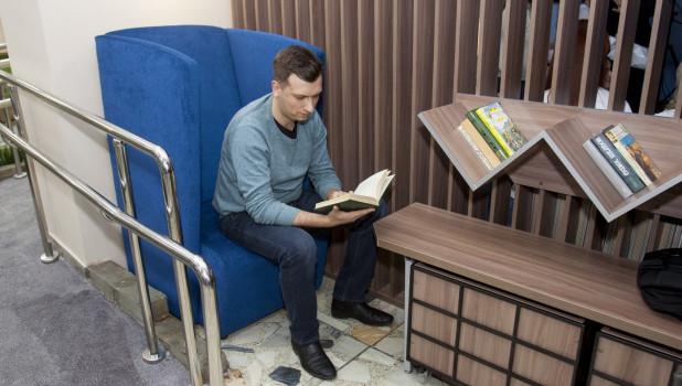 Открытие первого этажа библиотеки им. Шишкова после ремонта.