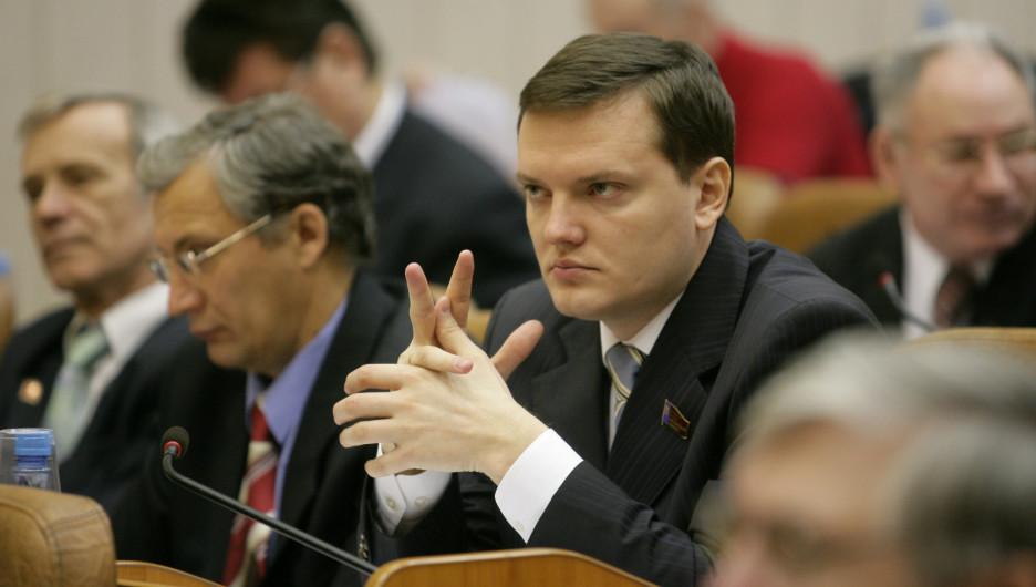 Даниил Бессарабов в 2009 году.