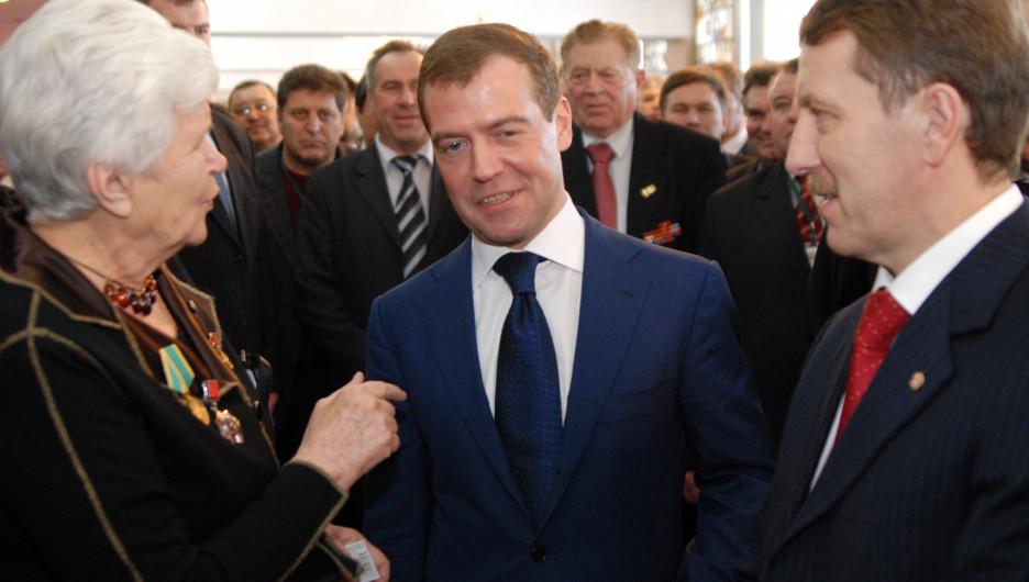 Дмитрий Медведев в 2009 году.