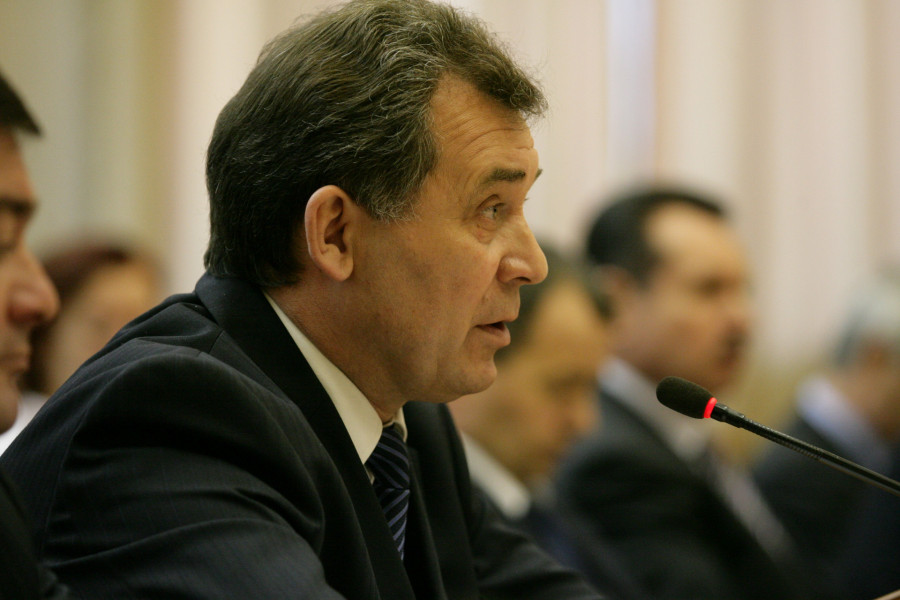 Александр Романенко в 2009 году.