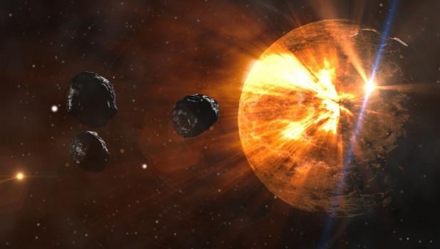 Метеорит. Астероид. Звезда