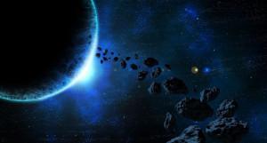 Космос. Астероиды. Звезды