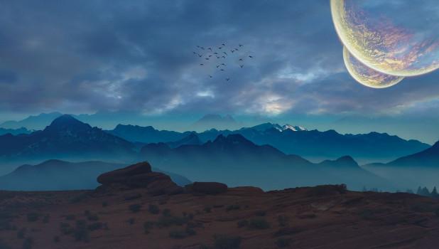 Космос. Планета