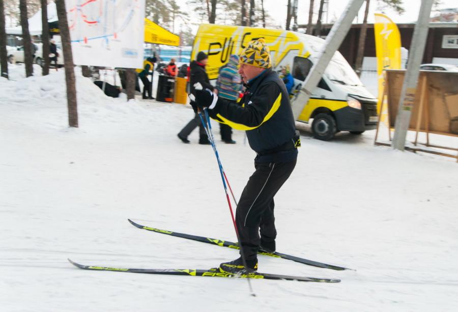 Лыжный марафон на 50 километров классическим стилем. 20 января 2019 года