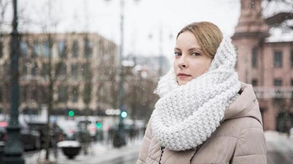 Мария Мотузная в Вильнюсе.