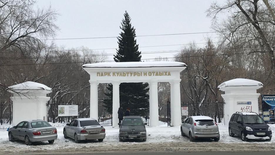 """В парке """"Изумрудный"""" в январе 2019 года"""