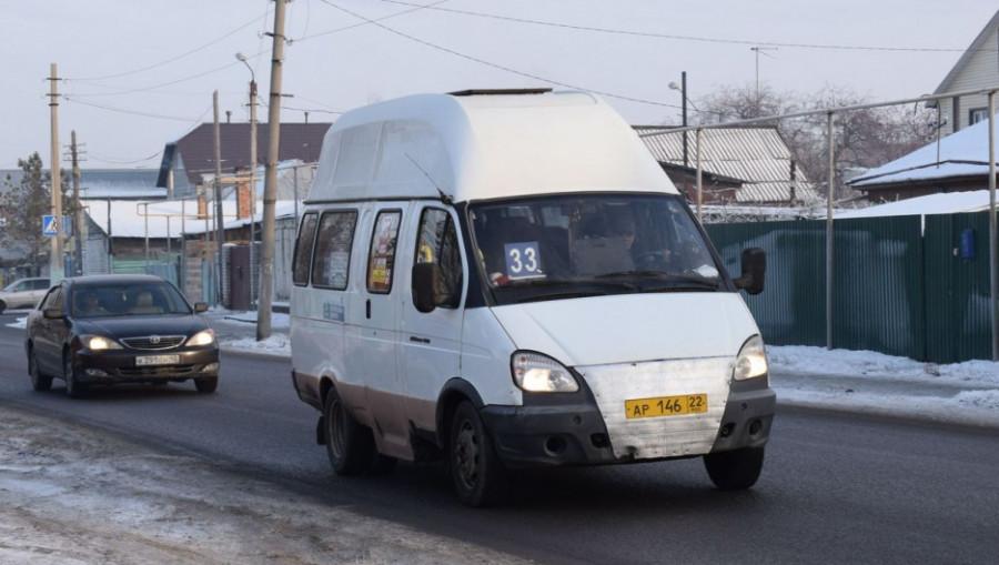 """Автобусы компании """"АГАС-Транс"""" в Барнауле"""