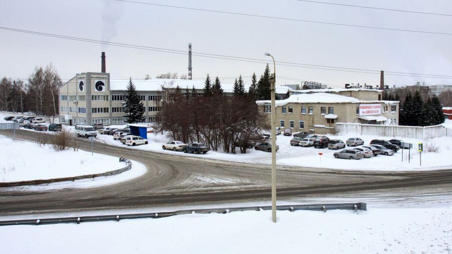 Новоалтайск. Промышленная зона