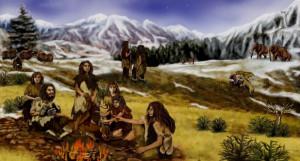 Неандертальцы.