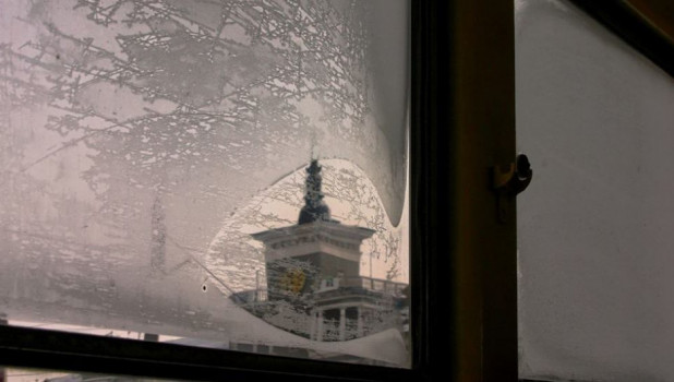 Морозы в Барнауле