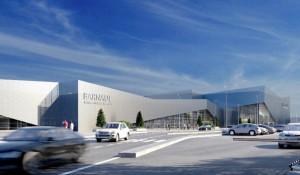 Рендеры нового здания аэропорта Барнаула.
