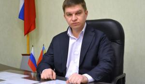 Глава Павловского района Антон Воронов.