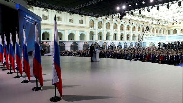 Владимир Путин выступит с посланием 21 апреля
