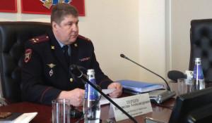 Владислав Перцев, начальник УГИБДД ГУ МВД России по Алтайскому краю.