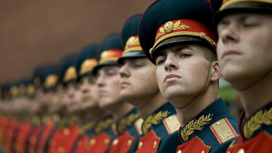 Солдаты. Армия. Почетный караул