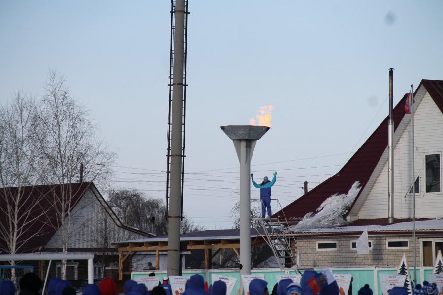 Олимпиады сельских спортсменов в Ребрихе