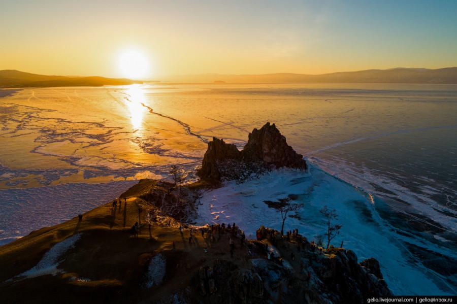 Зимний Байкал.