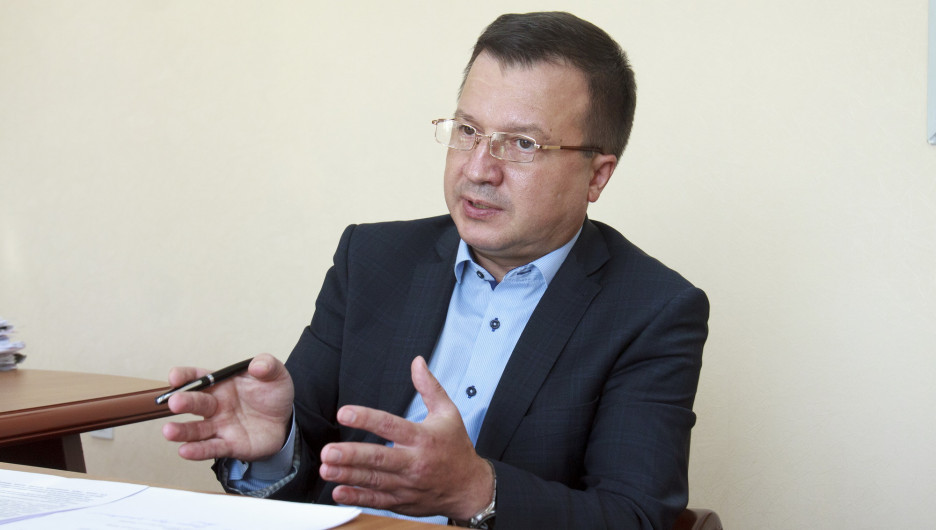 Начальник Алтайпищепрома Александр Большаков