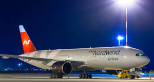Boeing 777 авиакомпании Nordwind Airlines.