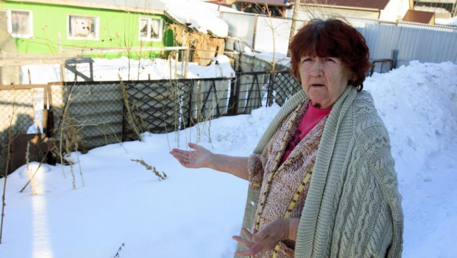 Пенсионерка Наталья Бобровских.