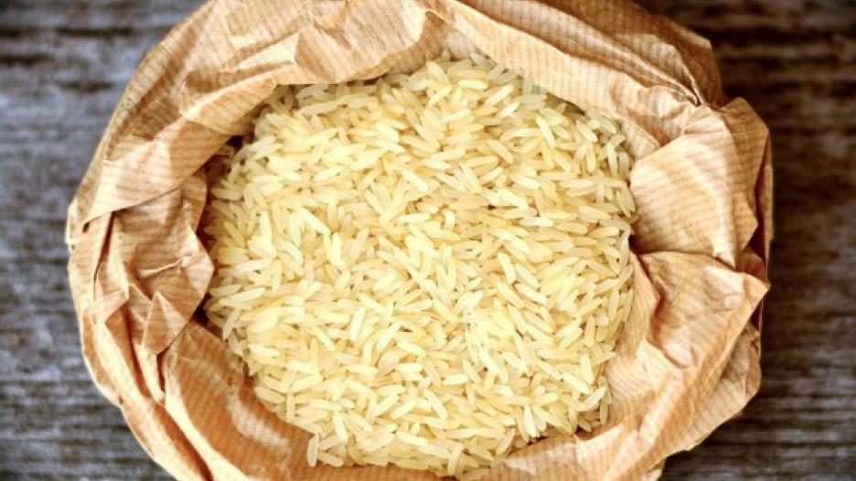 Мешок риса.
