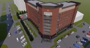 Так будет выглядеть здание прокуратуры Алтайского края на ул. Партизанской, 97.