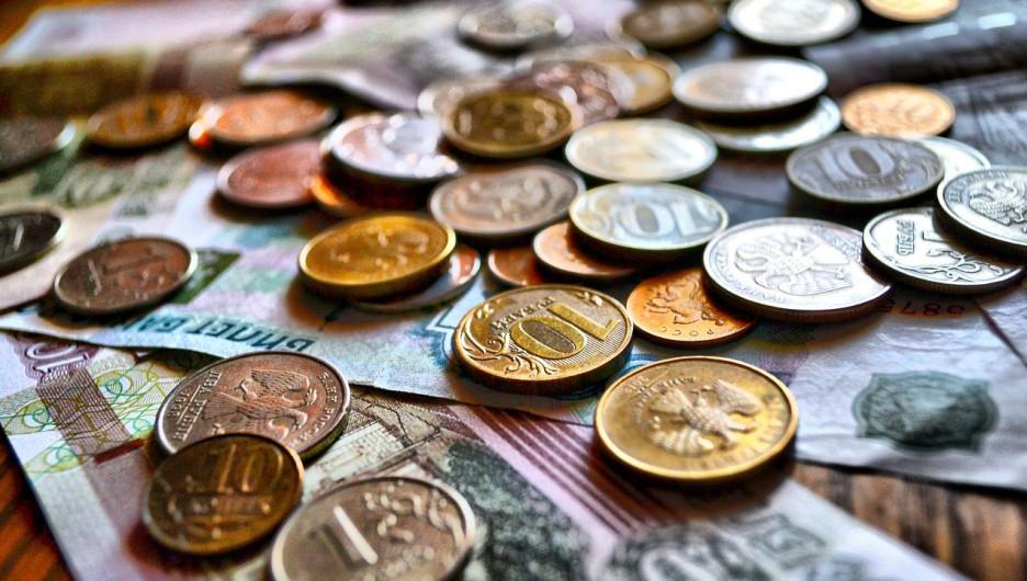 Деньги. Рубли. Монеты.