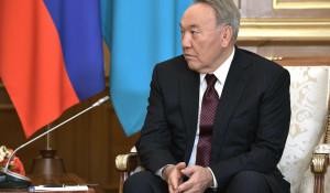 Экс-президент Республики Казахстан Нурсултан Назарбаев.