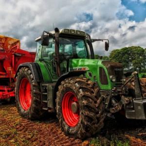 Трактор. Ферма. Посевная.