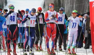 Юбилейный лыжный «Тягунский марафон» в Тягуне.