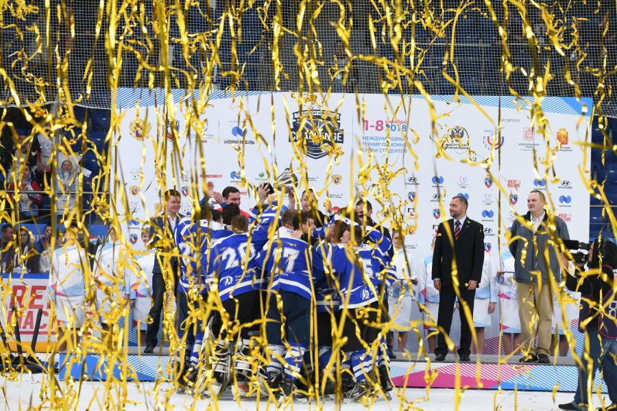 Финальный матч  Student Hockey Challenge в Красноярске