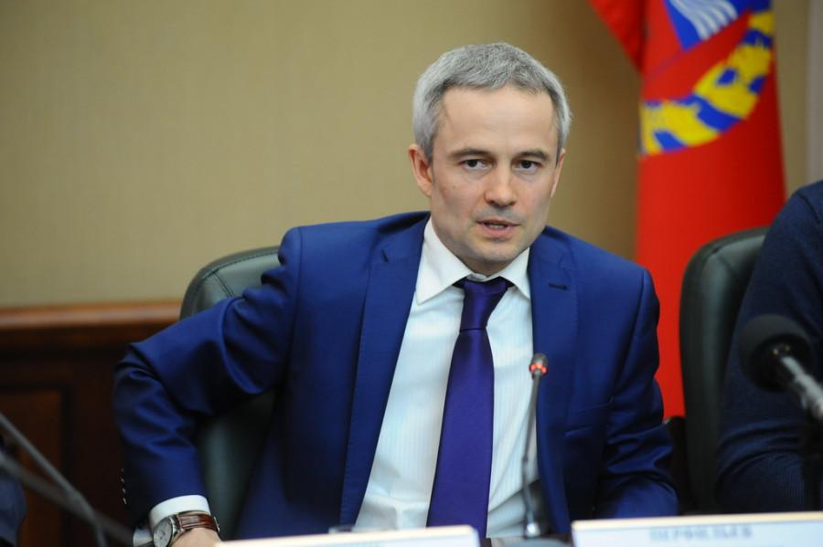 Министр спорта Алтайского края Алексей Перфильев